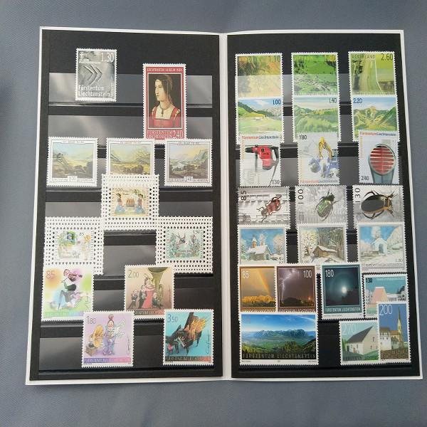 Liechtenstein 2007 Jahresmappe postfrisch