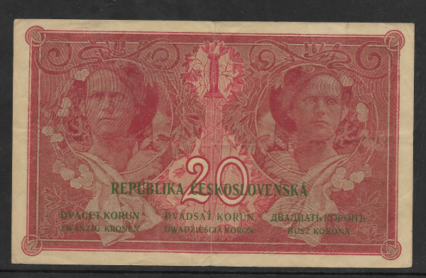 20 Korun 15.4.1919 S. P081 C476961