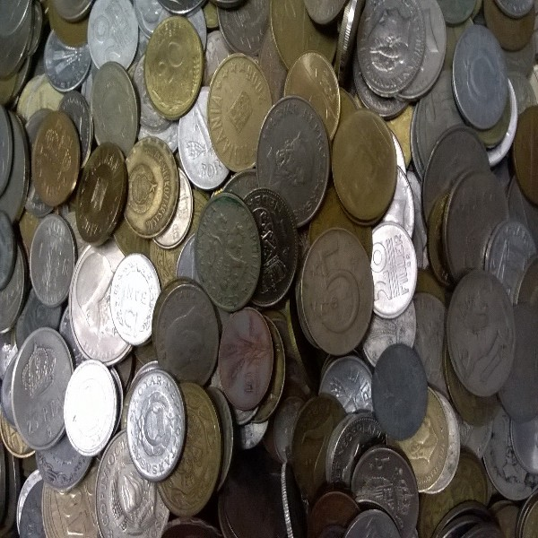 5 Kilo Münzen alle Welt