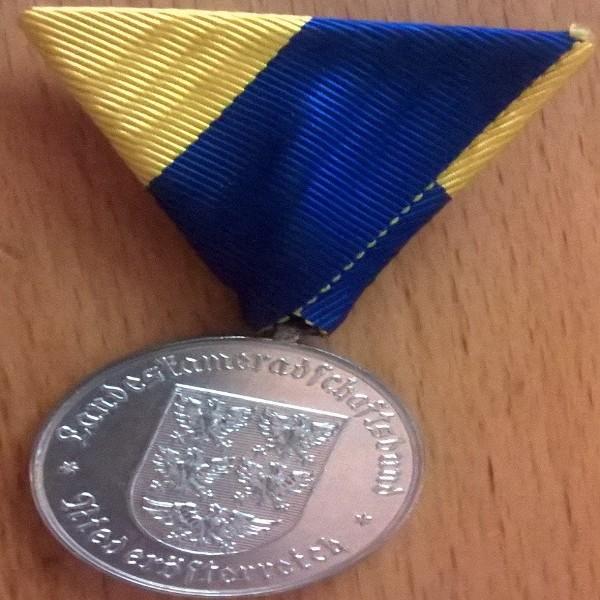 Österreich, Kameradschaftsbund 40 Jahre Mitglied in Silber Niederösterreich