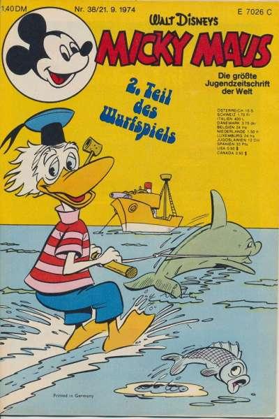 Micky Maus Nr. 38/1974
