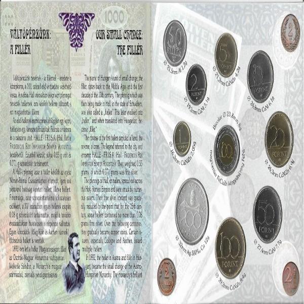 Ungarn Original KMS Coin Set 1997 Blister