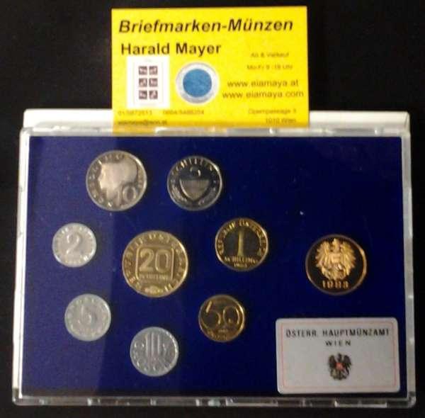 1983 Jahressatz Kursmünzensatz KMS Mintset