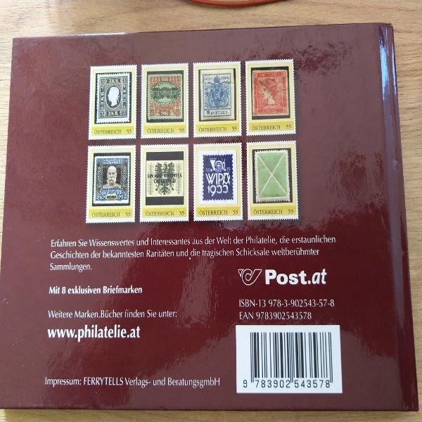Die wertvollsten Briefmarken der Welt mit 8 exklusiven Marken Briefmarkenbuch