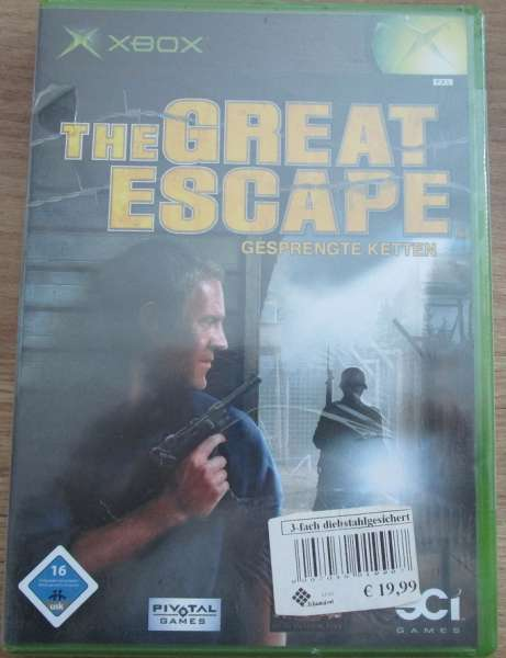 XBox Spiel The Great Escape Gespengte Ketten Xbox USK ab 16 in OVP Neu