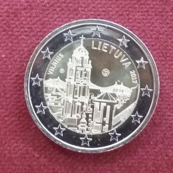 2 Euro Litauen 2017 Vilinus
