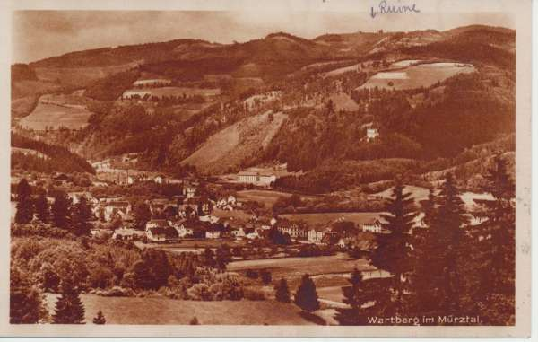 Wartberg im Mürztal ca.1930