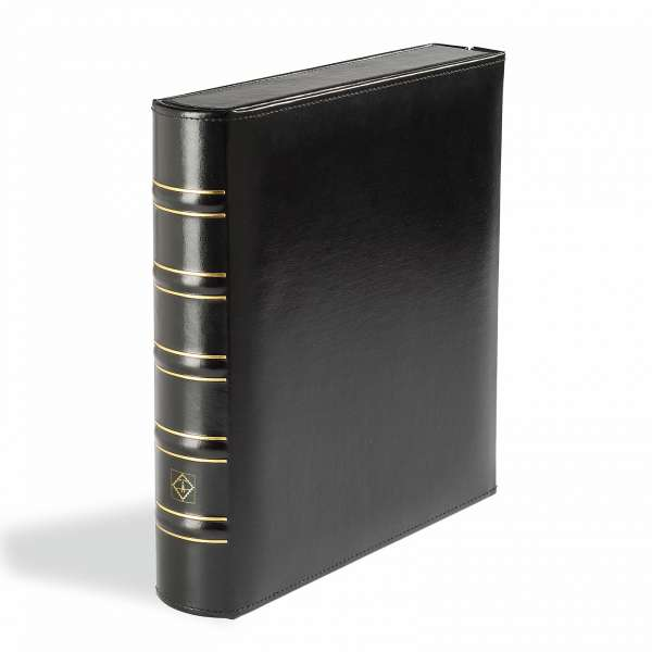 BOX-BINDER OPTIMA, CLASSIC-DESIGN, SCHWARZ