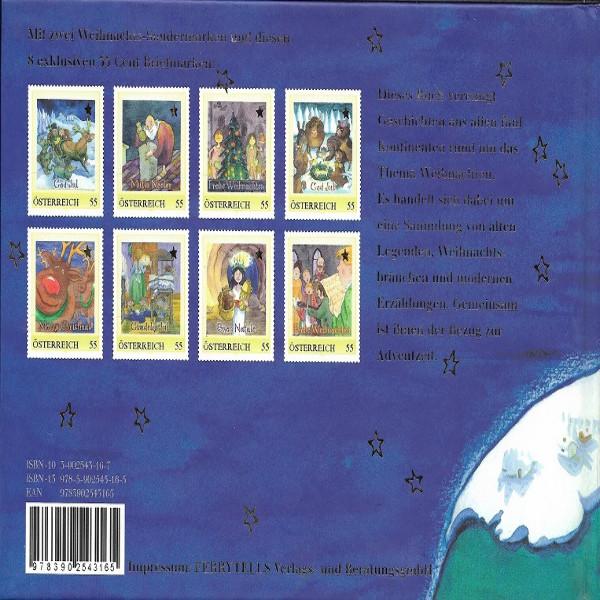 Briefmarkenbuch Die Weihnachts-Weltreise mit 10 Briefmarken