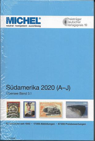 Michel Übersee Katalog Nr.3 Südamerika 2020 Teil 1 A-J