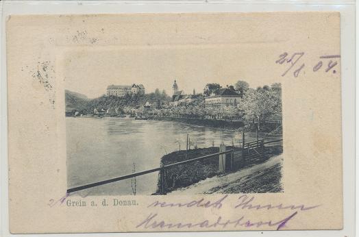 Grein an der Donau ca. 1904