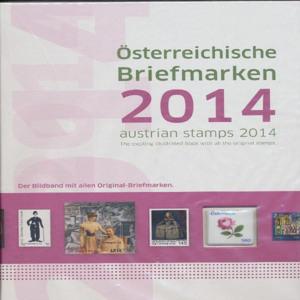 Marken Jahrbuch der Post 2014 Österreich