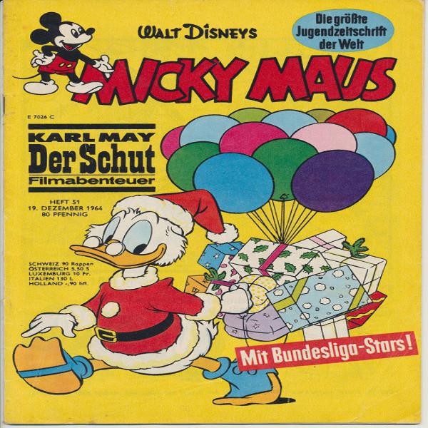 Micky Maus Nr. 51 /1964