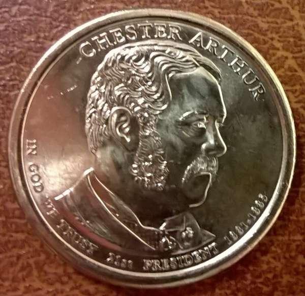 USA 1 Dollar 2012 P Chester Arthur (21)