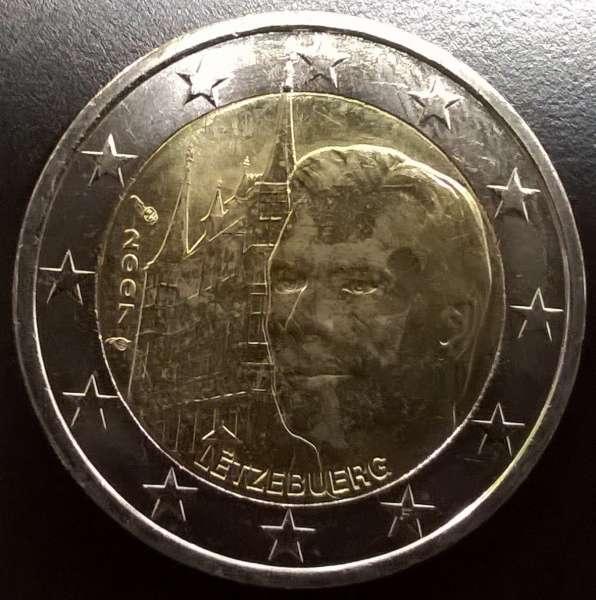 2 Euro Luxemburg 2007 Palais Henry