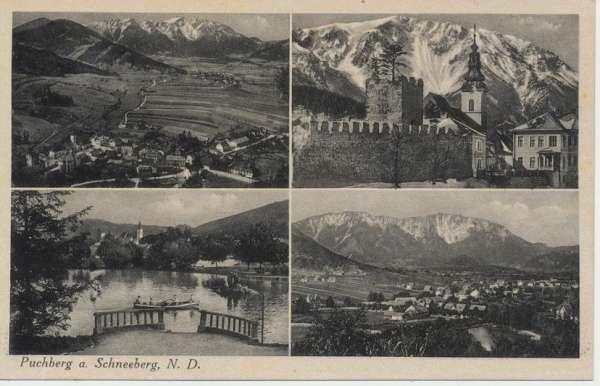 Puchberg am Schneeberg Nieder Donau