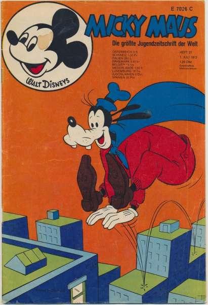 Micky Maus Nr. 27/1972