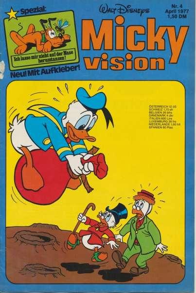 Mickyvision Heft Nr. 4/1977