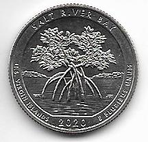 "USA 25 Cent 2020 P ""Beautiful Quarter -US Virgin Islands - (52)"