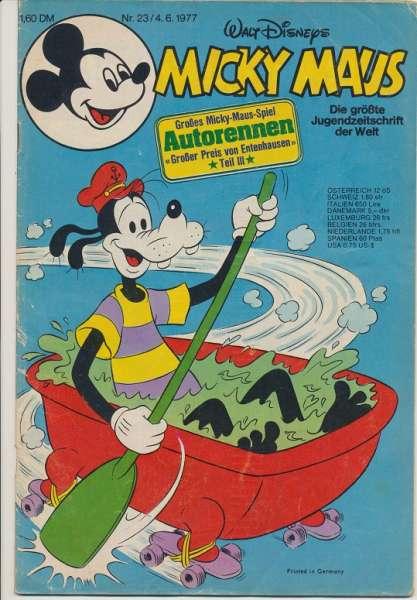 Micky Maus Nr. 23/1977
