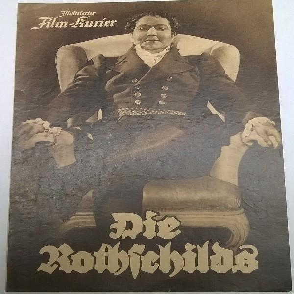Illustrierter Film - Kurier Die Rothschilds