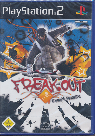 Ps 2 Spiel Freak Out Extreme Freeride Neu