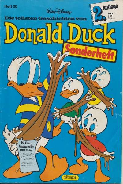 Donald Duck Sonderheft Nr.50 - 2.Auflage