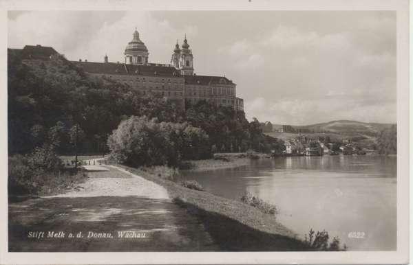 Stift Melk an der Donau ca.1938