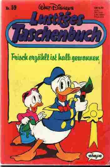 LTB Band 059 Frisch erzählt ist halb gewonnen Rundes Logo