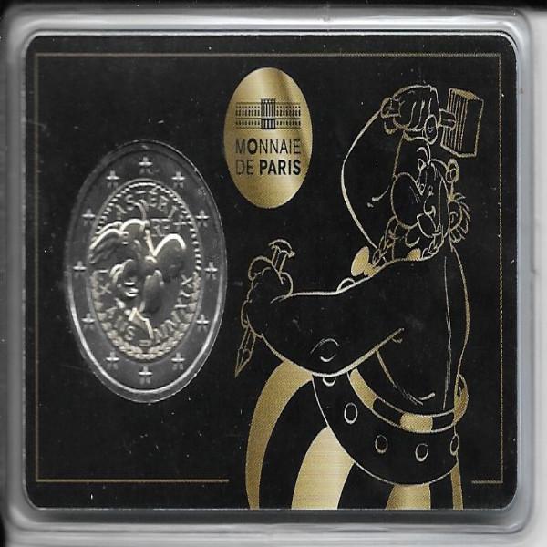2 Euro Frankreich Asterix Coincard 2019 ( Obelix )