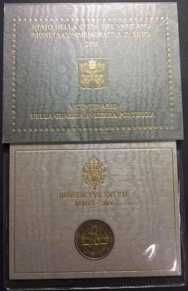 2 Euro Vatikan 2006 Schweizer Garde
