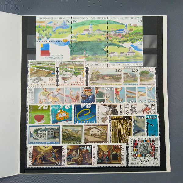 Liechtenstein 1999 Jahresmappe postfrisch
