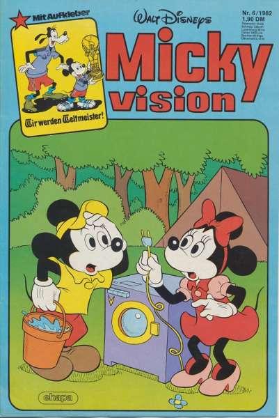 Mickyvision Heft Nr. 6/1982