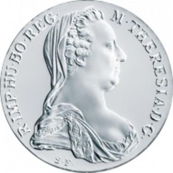 Maria Theresien Taler Nachprägungen Blister Polierte Platte