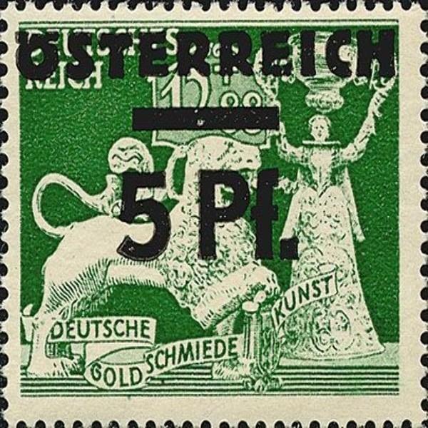 ANK Nr. 664 5 Pfennig Postfrisch