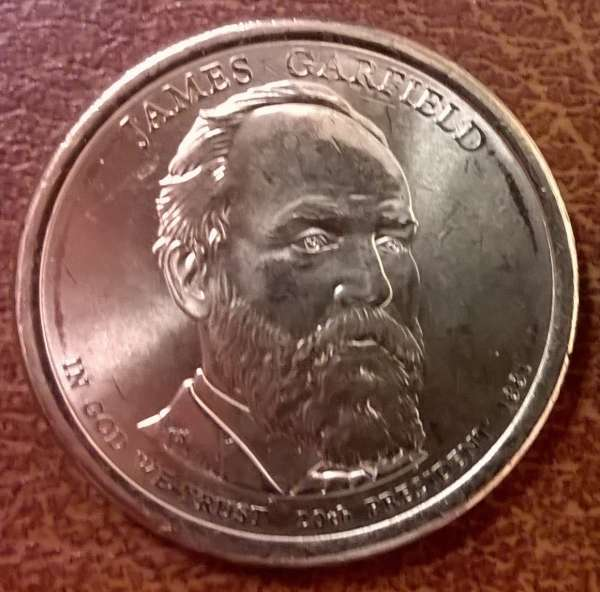 USA 1 Dollar 2011 D James Garfield (20)