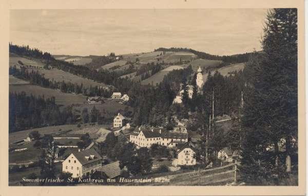 Sommerfrische St. Kathrein am Hauenstein 822m 8672