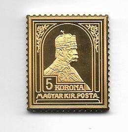 K&K Jubiläums Collection Silber Gold Österreich Magyar Kir Posta 5 Korona