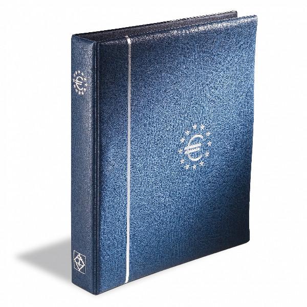 Münzalbum OPTIMA, für Euro-Kursmünzen, blau