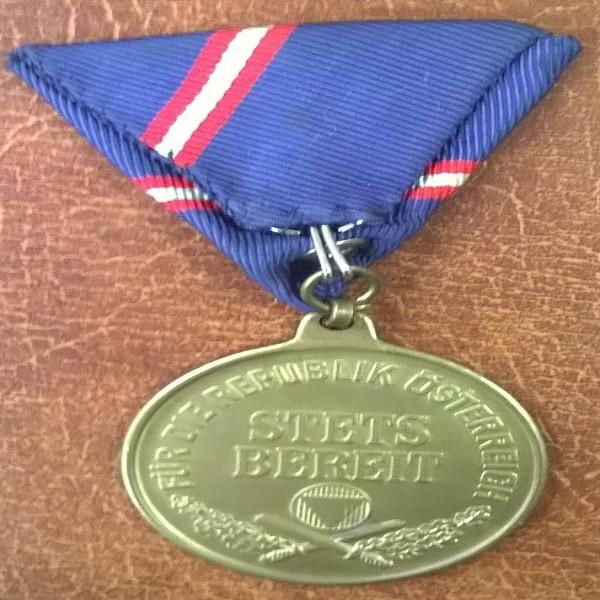 Bronzerne Wehrdienstmedaille Republik Österreich