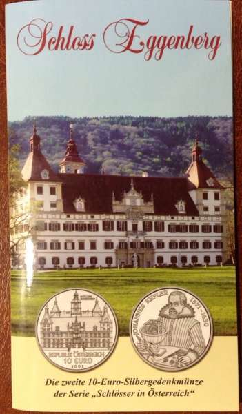 10 Euro Silber 2002 Schloss Eggenberg HGH ANK Nr. 02
