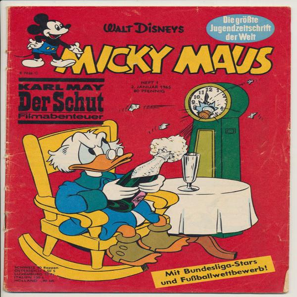 Micky Maus Nr. 1 /1965