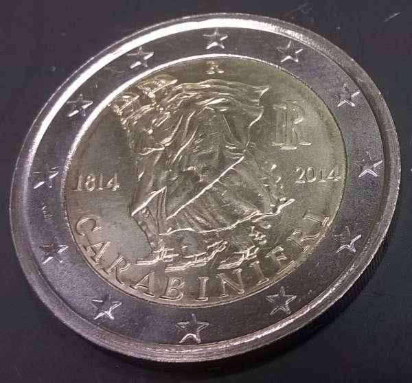 2 Euro Italien 2014 Carabinieri