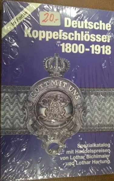 Deutsche Koppelschlösser 1800-1918