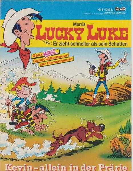 Lucky Luke Nr.6 Bastei Kevin allein in der Prärie