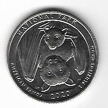 "USA 25 Cent 2020 P ""Beautiful Quarter -American Samoa - (50)"