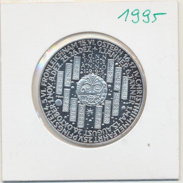 1995 Kalendermedaille Jahresregent Silber