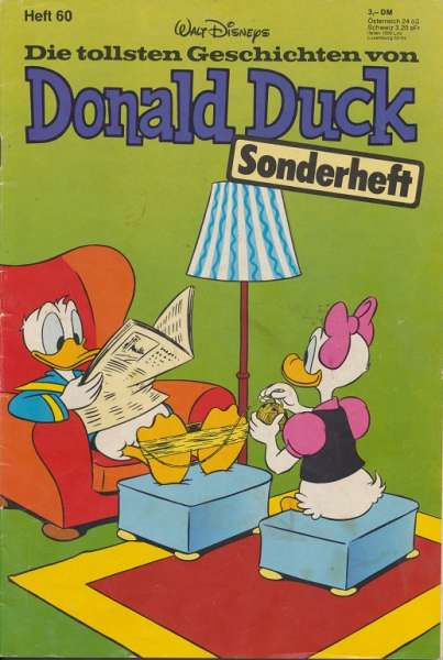 Donald Duck Sonderheft Nr.60