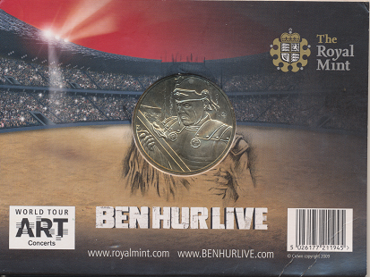 BEN HUR LIVE Commemorative Medal Very Nice Limited Edition 50.000 Minted