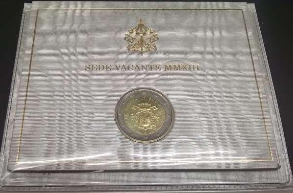 2 Euro Vatikan 2013 Sede Vavante
